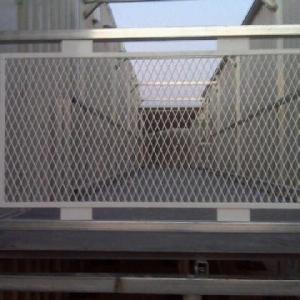 Walkway Guard Rail
