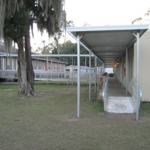 hamilton-elementary-Temporary Walkway Cover