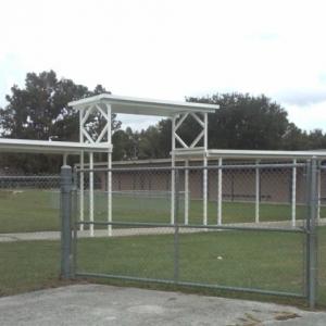 Temporary School Bus Canopy