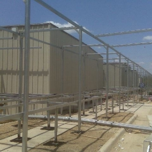 non combustible walkway cover