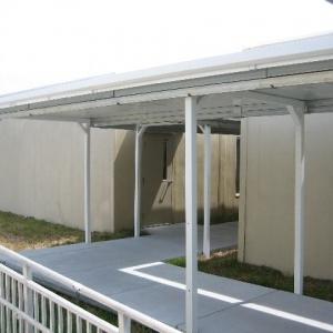 Modular Walkway Cover