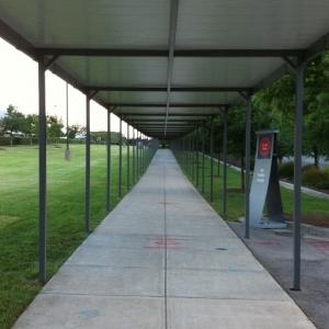 Pedestrian Walkway Cover