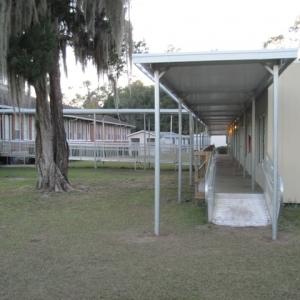 hamilton-elementary-Temporary Walkway Cover
